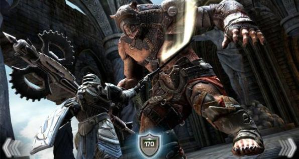 Caption Infinity Blade