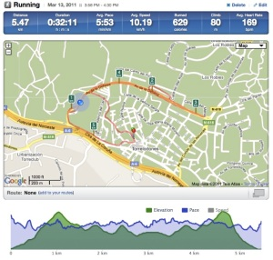 Captura Web Runkeeper
